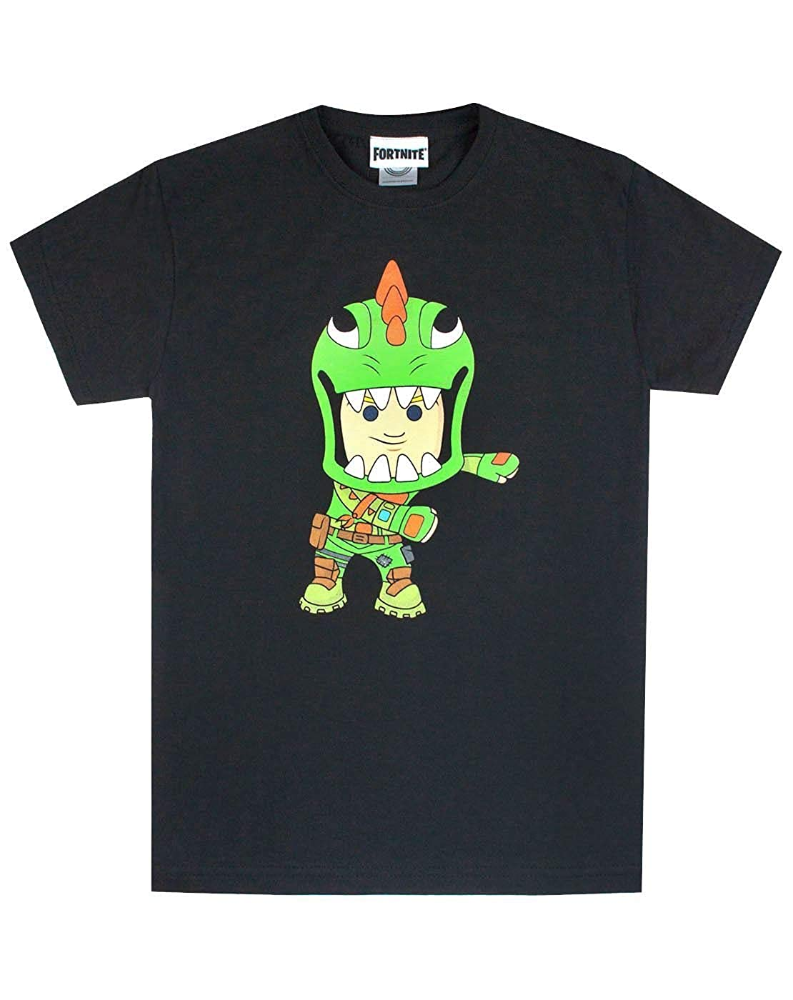 Amazon.com: Fortnite Rex Floss Black T-Shirt (14-15 Years ...