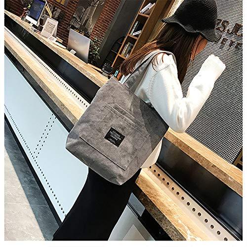 sac Harajuku femmes Gris femme sac sac femmes sac Messenger nouveau étudiants coréens grand Le à bandoulière College de sac LANDONA sauvages Wind Ev1fUqx