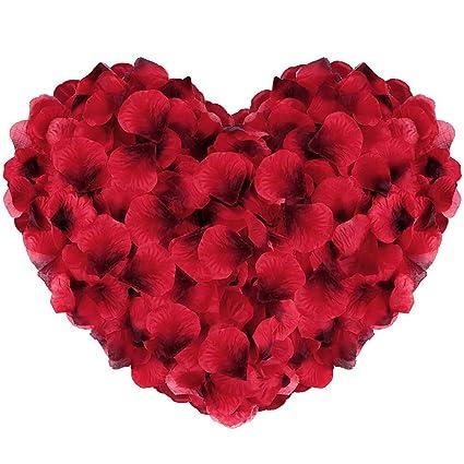 D/écoration Pour la Saint Valentin 3000pcs P/étales De Rose P/étale de Roses pour Romantique un /év/énement P/étale de Fleur pour Mariage D/écoration