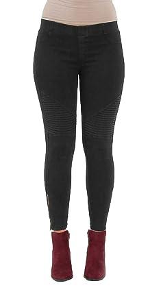 59e3adf614495e Beulah Women's Ankle Zip Moto Pant at Amazon Women's Clothing store: