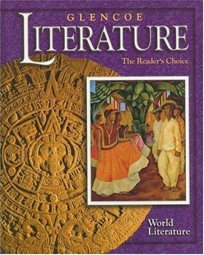 glencoe world literature - 4