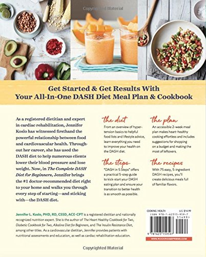 The Complete DASH Diet for Beginners: The Essential Guide ...