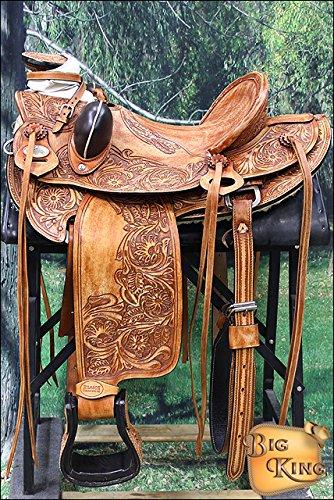 Wd013stro Hilason Big King Western Wade Ranch Roping Cowboy Trail Saddle
