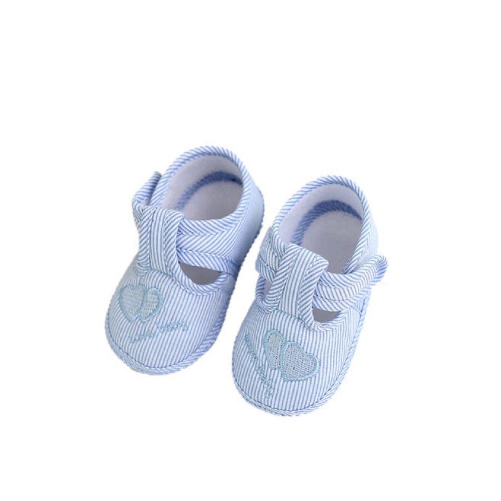 Logobeing Zapatos Bebe Recien Nacido Zapatillas de Lona Antideslizante Suela Suave Sandalias