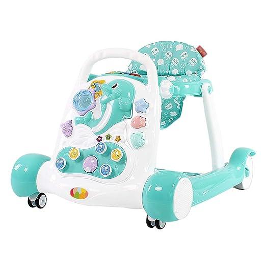 Caminante para niños Multifunción antivuelco 6-12 Meses Bebé ...
