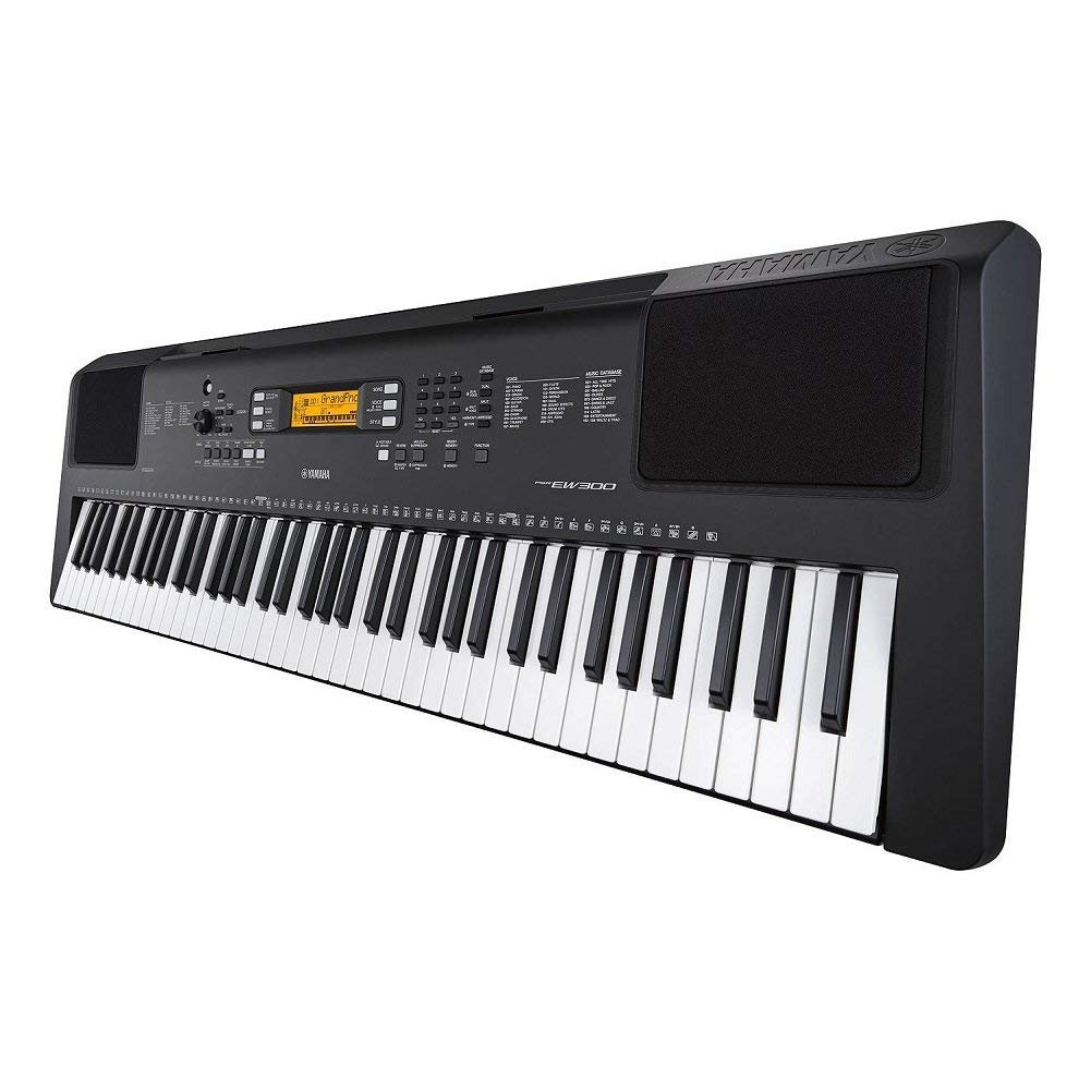 Yamaha PSR-EW300 SA 76-Key Portable Keyboard Bundle with Stand and Power Supply (Renewed) by Yamaha (Image #4)