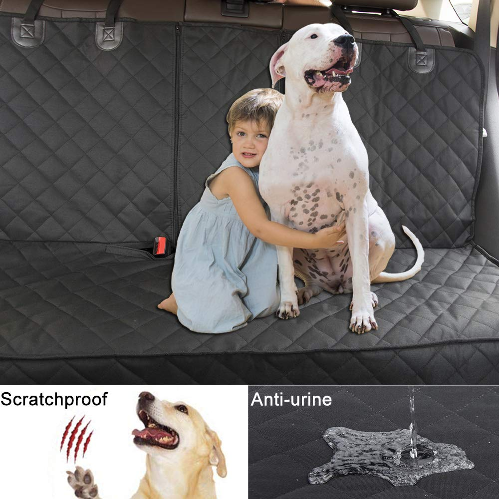 LOUTAN Dog Seat Cover 100/% Waterproof Pet Seat Cover 600D Heavy Duty Scratch Proof Nonslip Durable Soft Pet Back Seat Covers for Cars Trucks and SUVs Bench Car Seat Cover Protector