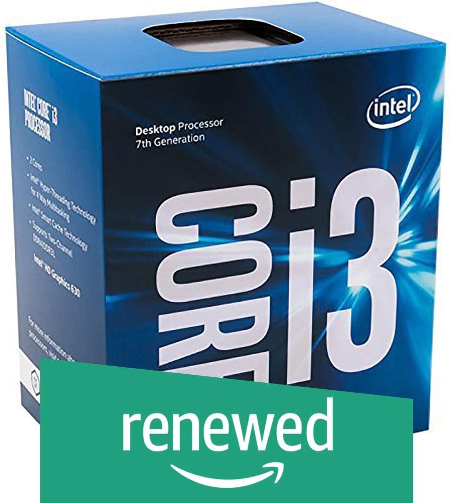 Intel Core i3-7100 7th Gen Core Desktop Processor 3M Cache,3.90 GHz (BX80677I37100) (Renewed)