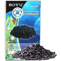 Carvão Ativado Peletizado Boyu Para Aquários AC - 500g