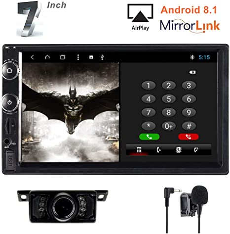 Amazon.com: Brogotek Double Din Android 8.1 Car Stereo 7 ...