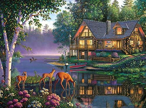 (Buffalo Games - Kim Norlien - Sweet Serenity - 1000 Piece Jigsaw Puzzle )
