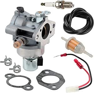 Harbot 20 853 35-S Carburetor for Kohler 20-853-35-S 20 853 44-S 20 853 21-S SV540 SV590 SV600 SV610 SV620 18HP 19HP 20HP 21HP 22HP Engines with Fuel Filter Line
