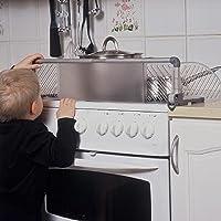 Safetots, protezione per bambini da manopole e fornelli