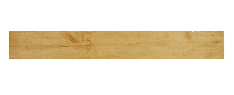 New England Classic Appalachian Rustic Wood Mantel Shelf 10'' Deep x 72'' Long Unfinished Pine by New England Classic