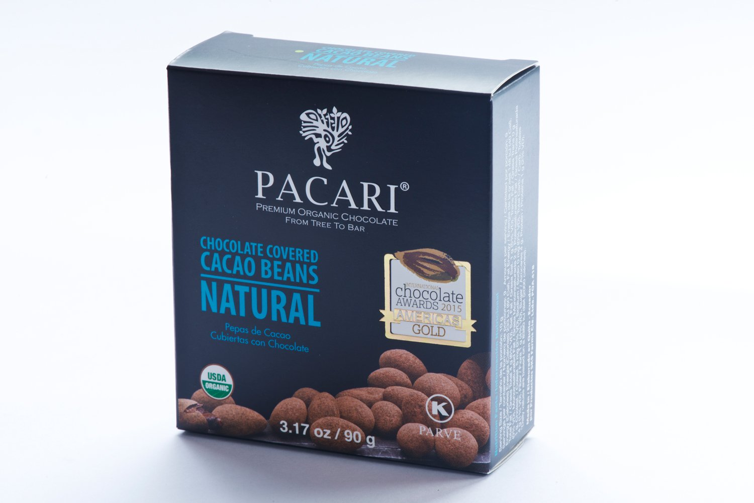 Amazon.com : Pacari Organic Cacao Cocoa Beans Natural : Candy And Chocolate Covered Nut Snacks : Grocery & Gourmet Food