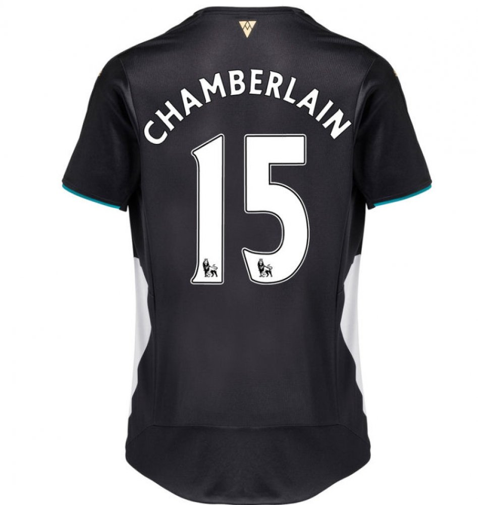 2015-2016 Arsenal Third Cup Football Soccer T-Shirt Trikot (Alex Oxlade-Chamberlain 15)