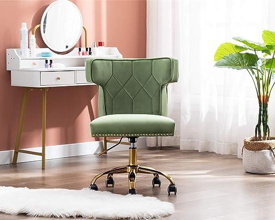Velvet Home Office Desk Chair