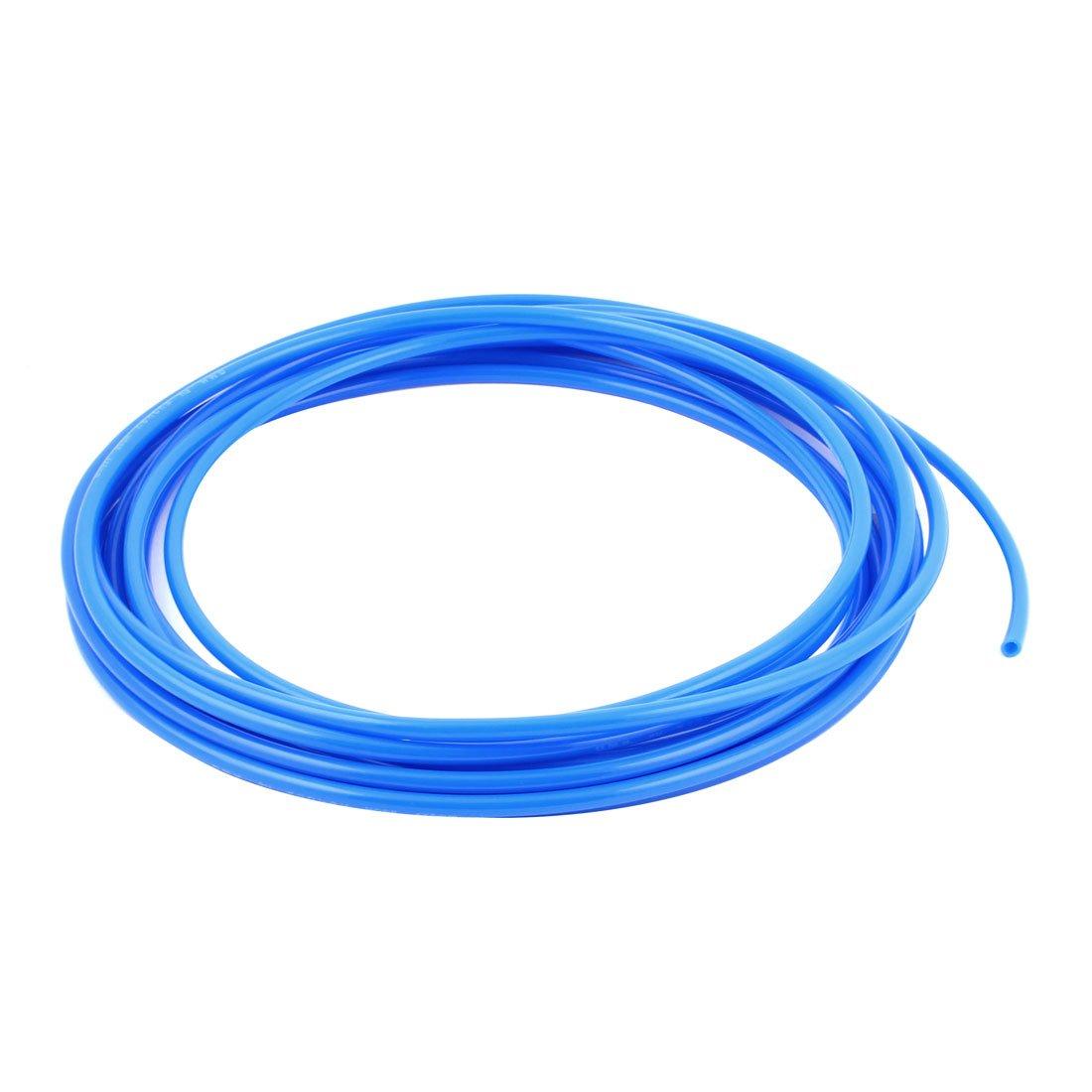 sourcingmap® Tubo Pu Línea Manguera Azul de 25 Pies 4X6mm Compresor de Aire de Gas, Combustible, Gasolina, Diésel: Amazon.es: Bricolaje y herramientas