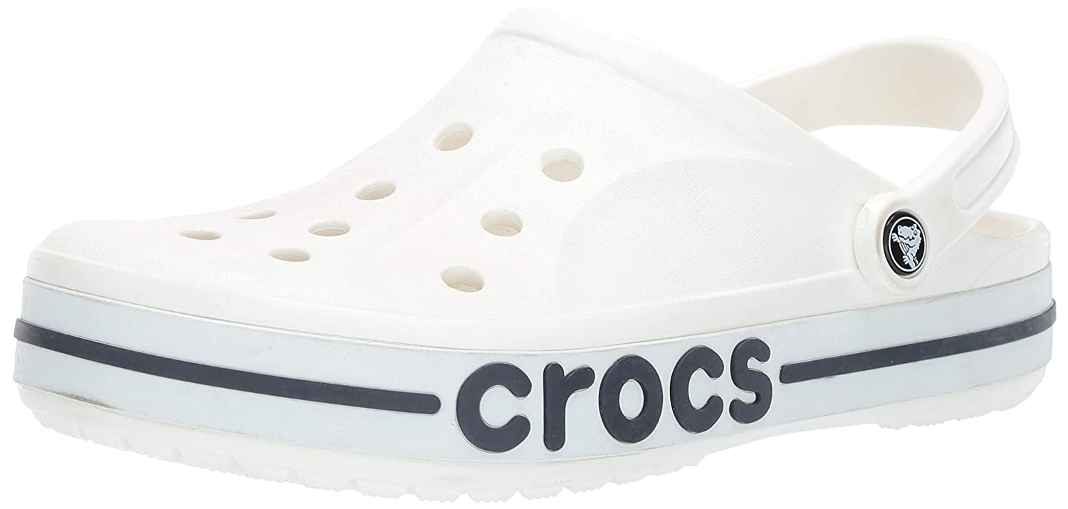 2b81d3db2d crocs Unisex Adult Bayaband Clogs White: Buy Online at Low Prices in India  - Amazon.in
