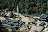 772010 Popchusa Temple And Songnisan Mountain South Korea A4 Photo Poster Print 10x8