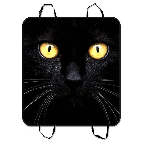 45c3b21d8 Amazon.com: Custom Black Cat in The Dark Dog Seat Cover Pet Seat Waterproof  Cover Hammock Car Seat Mat Cargo Mat Size 54x60 inches: Pet Supplies
