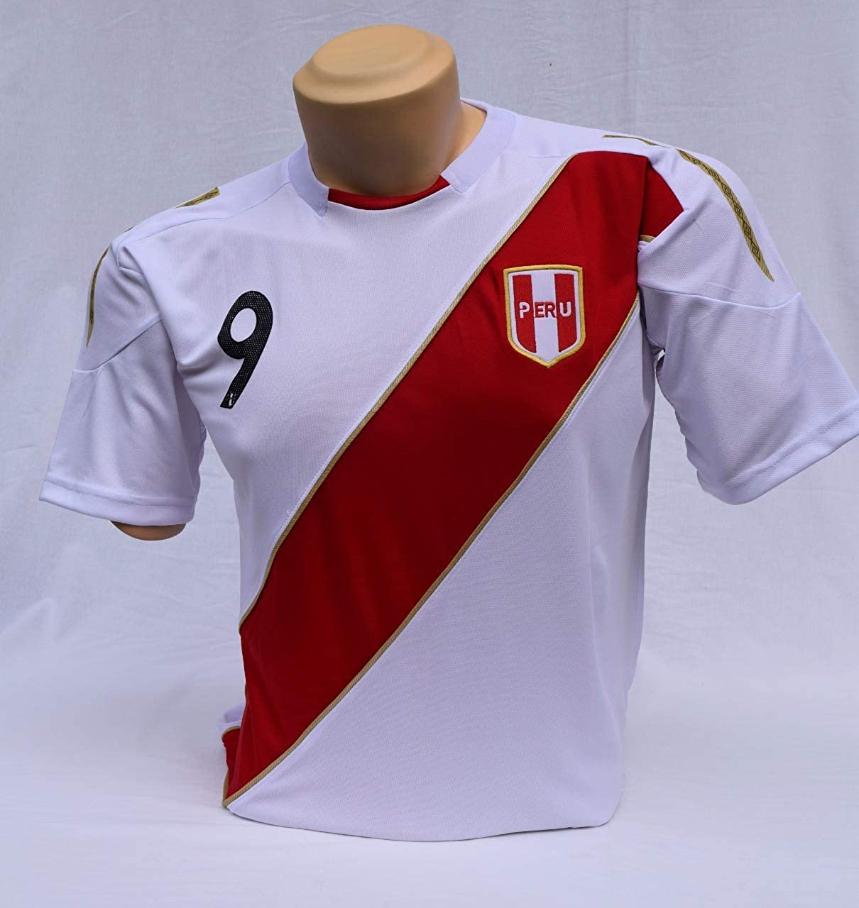 Peru Soccer Jersey . Size S(Small)  Support Your Team during Soccer