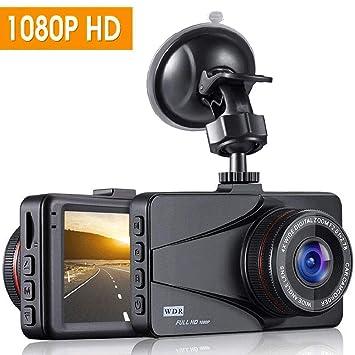 """Dash Cam, OKEEY Cámara de Coche 1080P Full HD 3.0"""" LCD Dashcam 170°"""