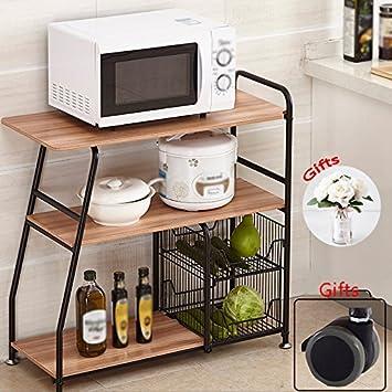 Muebles de cocina No hay necesidad de perforar estantes de ...