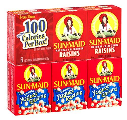 Best yogurt covered raisins sun maid list