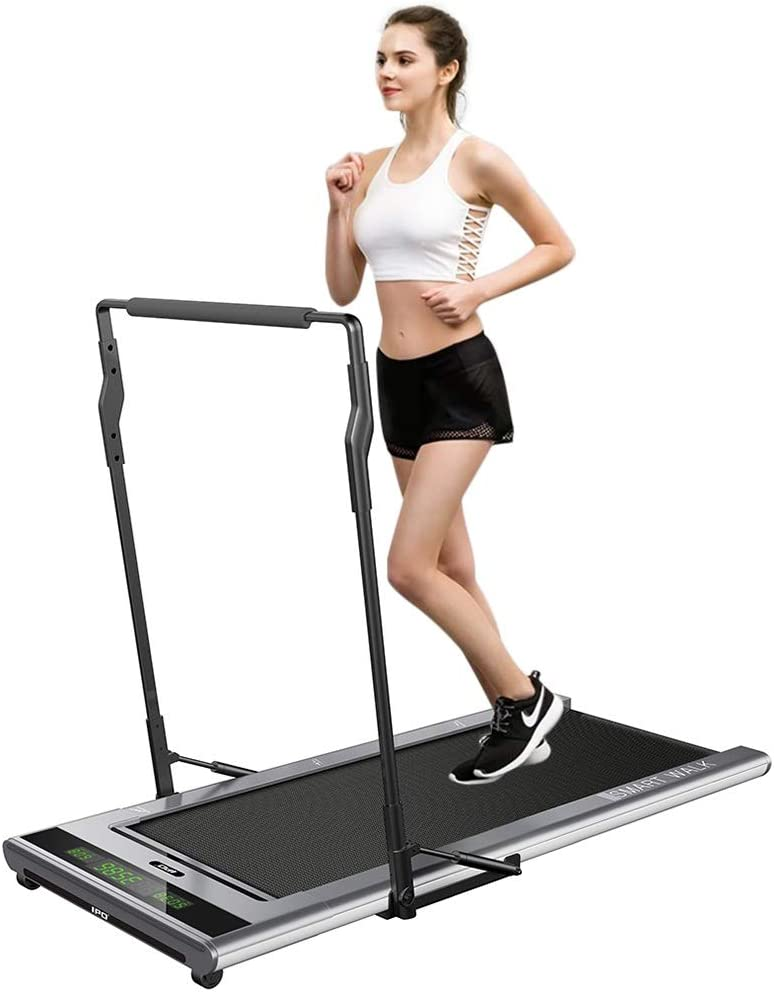 IPO Treadmill Smart Walk Slim Tread Folding Treadmill Intelligent Speed Control Compact Treadmill Under Desk