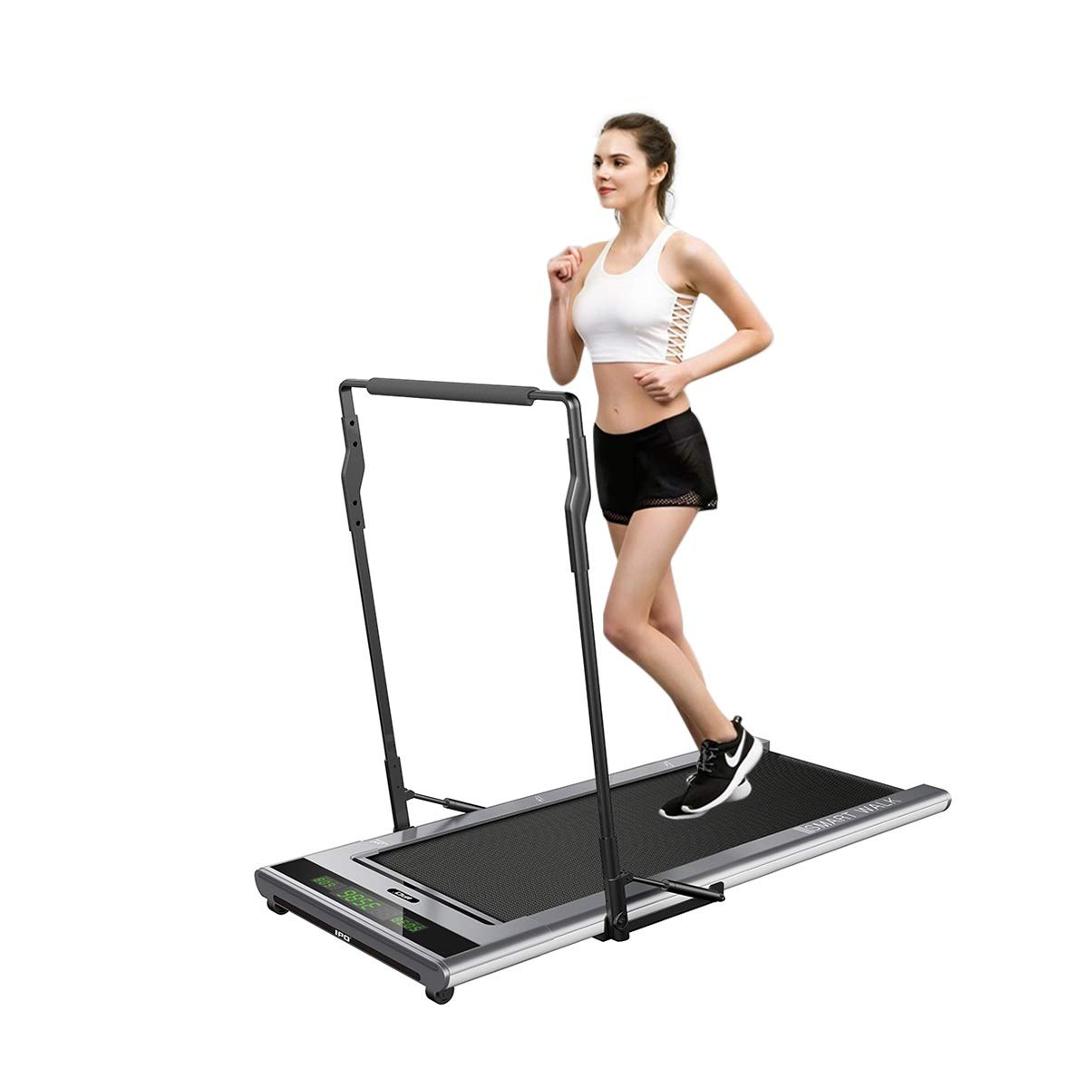 IPO Treadmill Smart Walk Slim Tread Folding Treadmill Intelligent Speed Control Compact Treadmill Under Desk