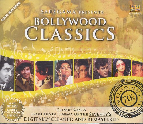 - Bollywood Classics - Melodious 70s (60 Classic Songs from Hindi Films / Bollywood Movies / Indian Cinema) [4 CD Gift Pack]