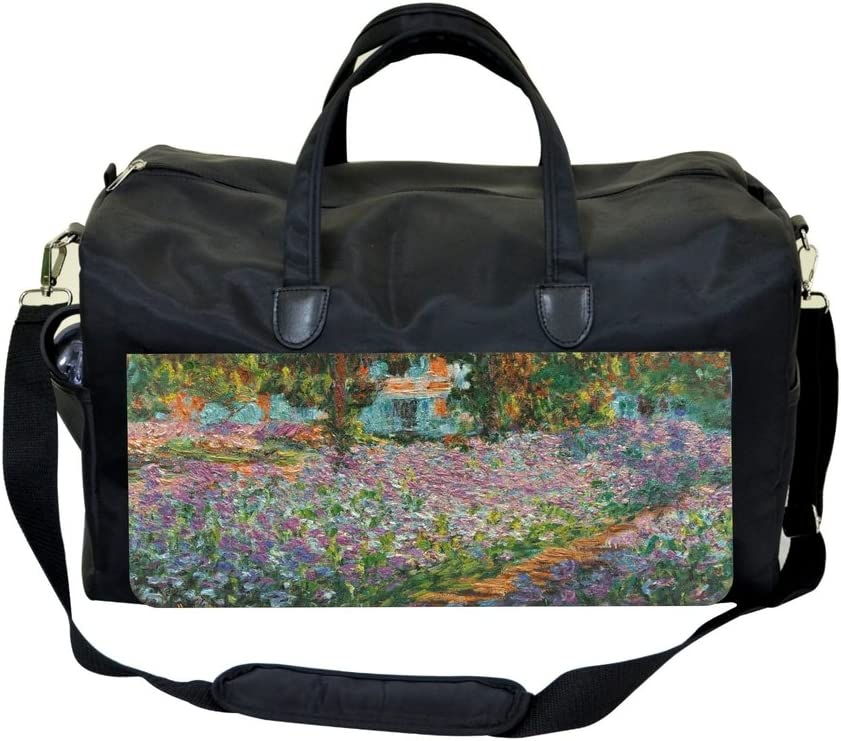 Artist Claude Monets Garden in Giverny Sports Bag
