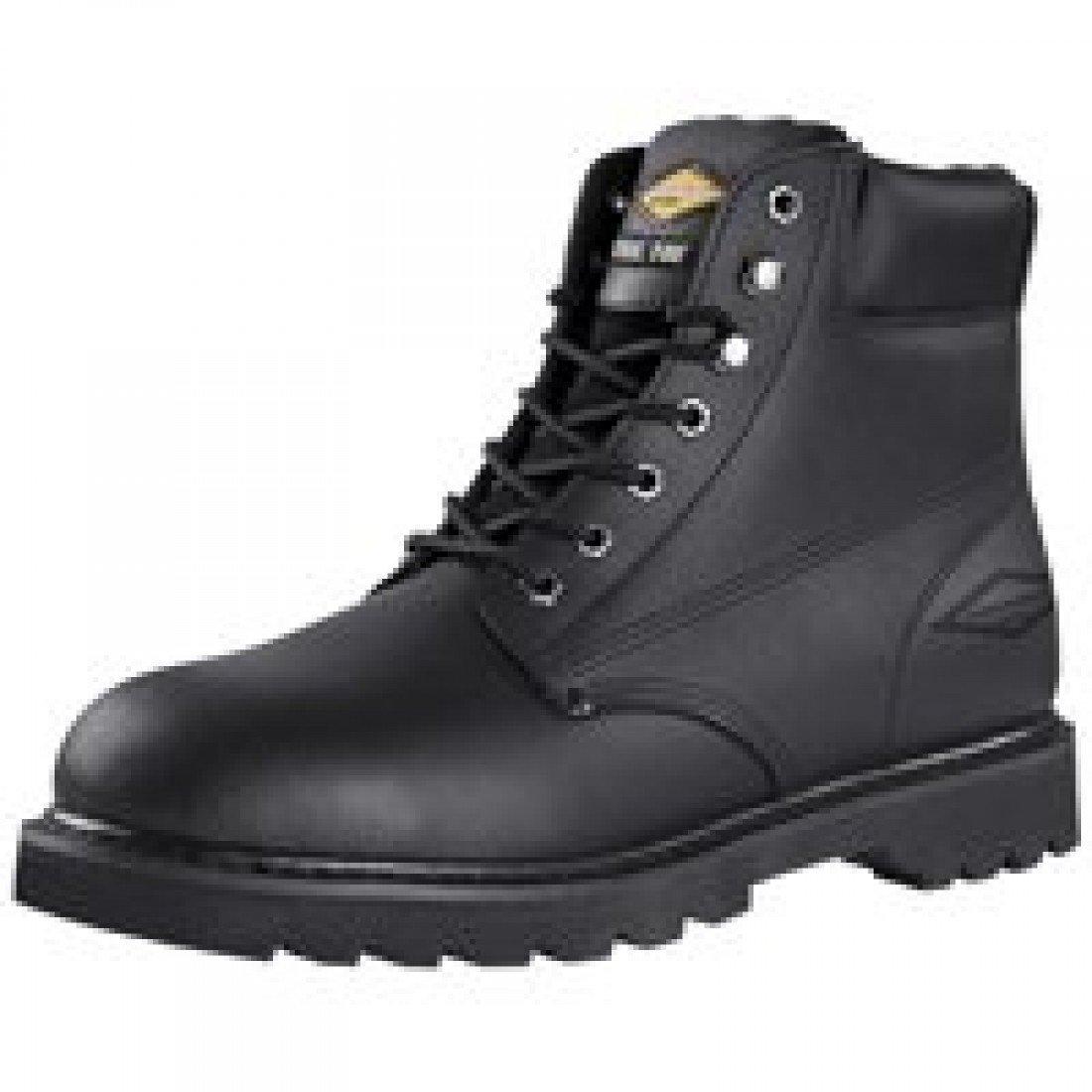 Diamondback 655SS-12 Mens Steel Toe Leather Work Boots - Size 12