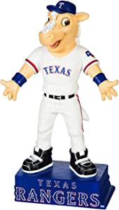 Evergreen MLB Texas Rangers Mascot DesignGarden Statue, Team Colors, One Size