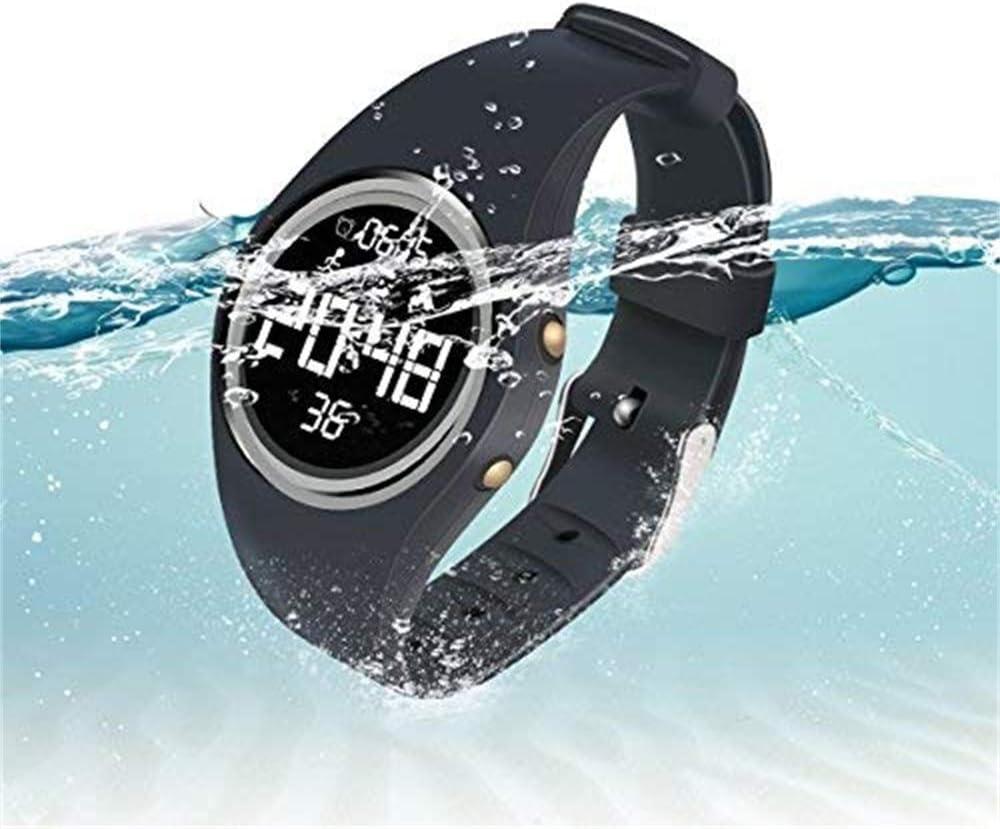 Hootracker Pulsera Actividad Impermeable IP68 Fitness Smartwatch Tracker Contador de Pasos, Contador de Calorías,Distancia niños Mujer Hombre - Non-Bluetooth Non-App