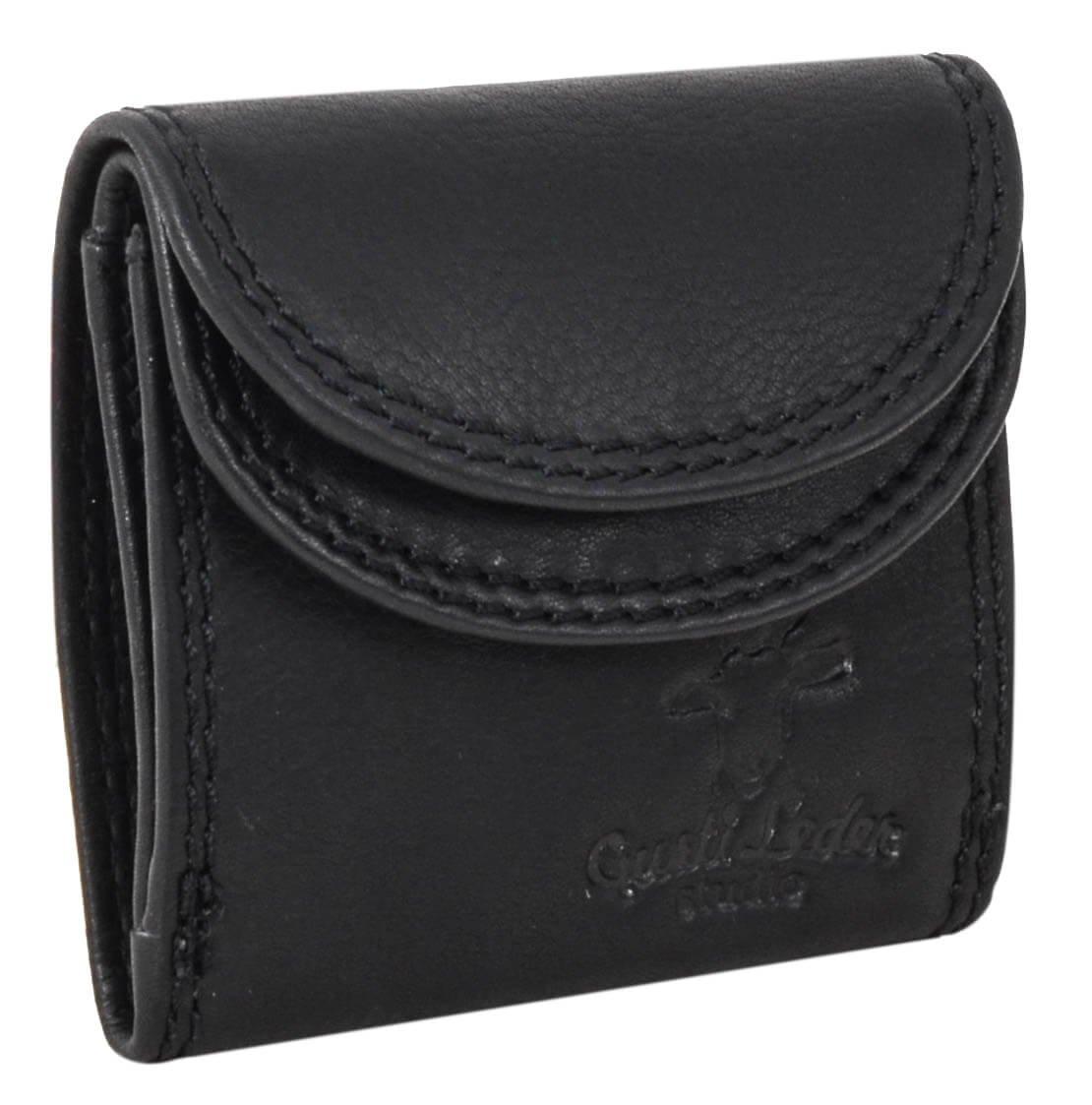"'Gusti Leather Studio ""Leif Purse Girls Mini Purse Men Wallet Purse Small Wallet Vintage Purse Money Cash Unisex Practical 2A68Black/9 Gusti Leder 2A68-22-9"