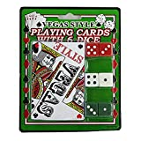 48 Vegas style playing card with dice