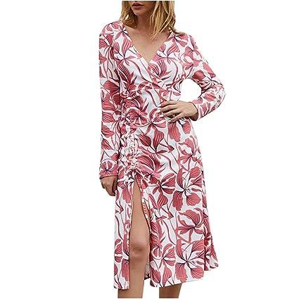 Vestidos Largos Mujer,Wave166 Casual Vestido De Verano Largo ...