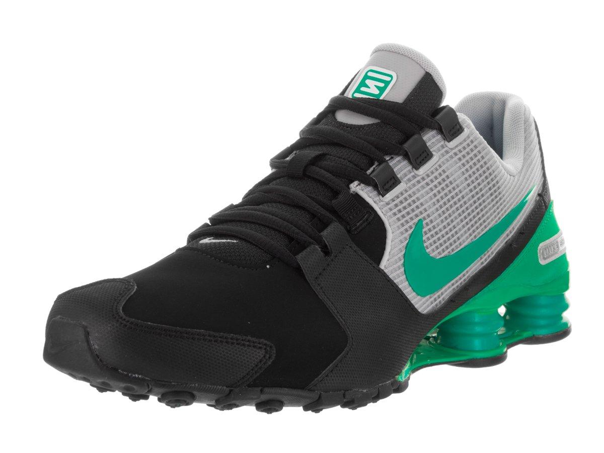 9618701583b7 Price Nike Men Shox Avenue Leather Running Shoes Black Stadium Green Wolf  Grey By