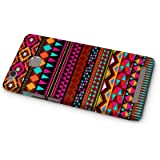 Cover Affair Aztec Printed Designer Slim Light Weight Back Cover Case for Xiaomi Redmi 3s Prime (Pink & White & Blue & Black & Other)