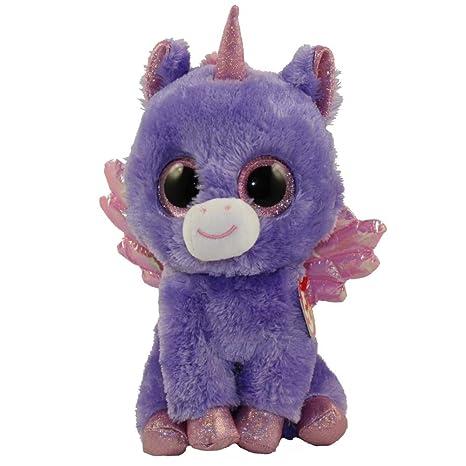Amazon.com  Ty Beanie Boo Athena Medium Size  Toys   Games 938bde81933