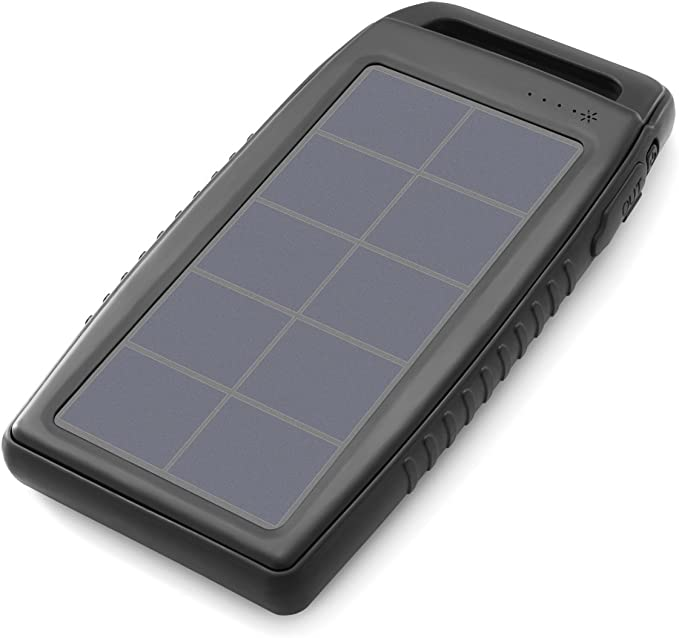 Amazon.com: Nekteck cargador solar de 10000 mAh, resistente ...