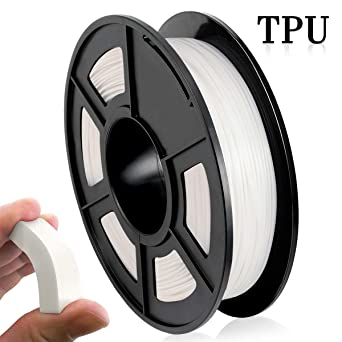 Filamento Impresora 3D TPU, Filamento TPU 1.75 mm 500G (1.1 lb ...