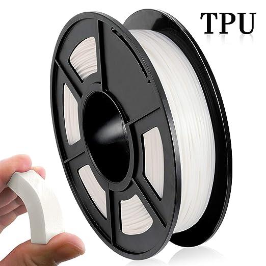 Filamento de impresora 3D de TPU, 1,75 mm, material de impresión ...