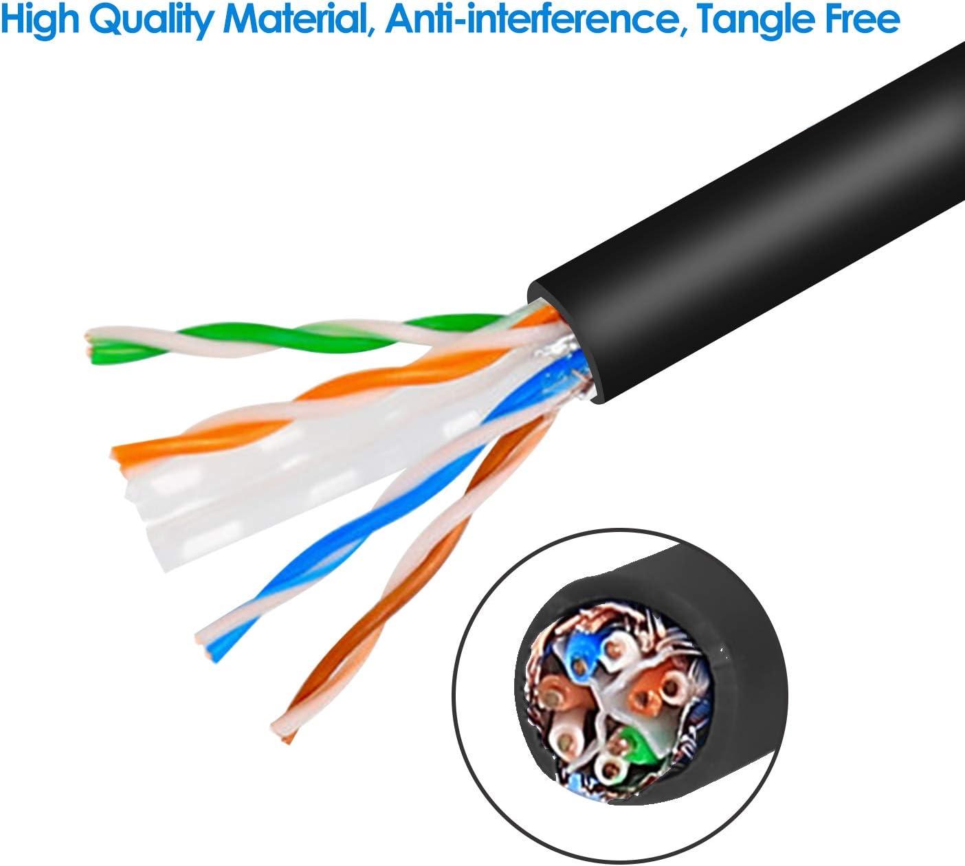 ShineBear Hot Cat5e RJ45 UTP Ethernet LAN Network Patch Cable Line Lead 5M Cable Length: 5m