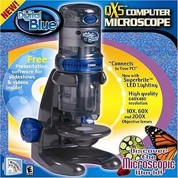 Amazon.com: Digital Blue QX5 Digial Microscope: Toys & Games
