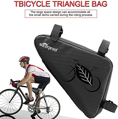 Cycling Kit Bag Pouch Saddle Bag Bicycle Tool Mountain Bike Bag Triangle Package