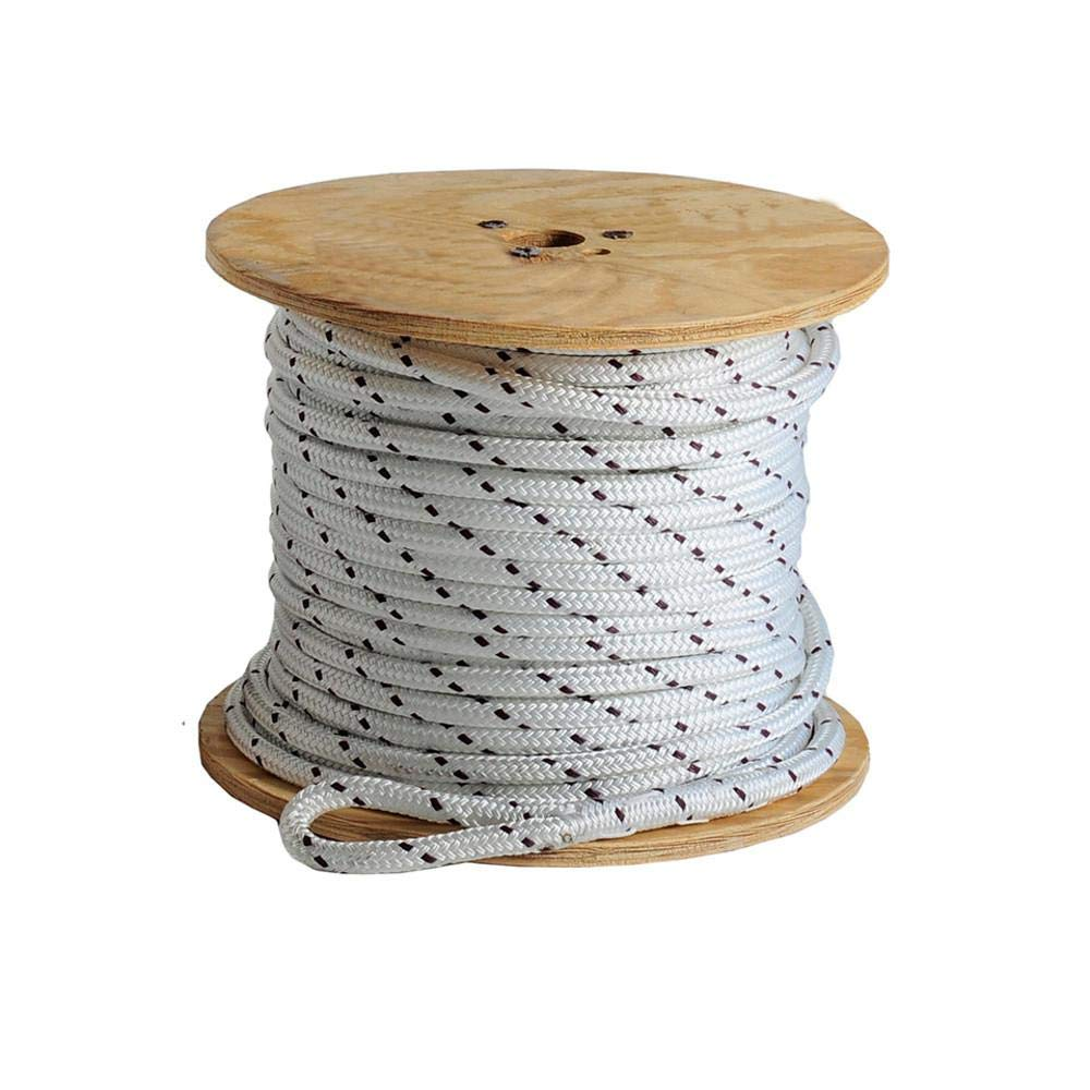 Chemical and Abrasion Resistant 600-Feet White 18,000 lbs Breaking Strength UV 5//8-Inch by 600Ft Southwire P-586 Double Braided Composite Rope for Cable Pulling