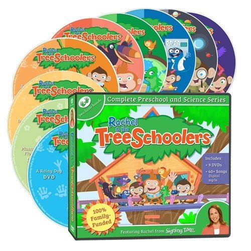 TreeSchoolers Complete DVD Collection by Two Little Hands Production